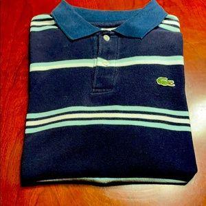 Lacoste golf shirt size 4
